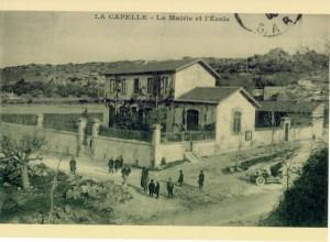 la mairie et l'école, La Capelle